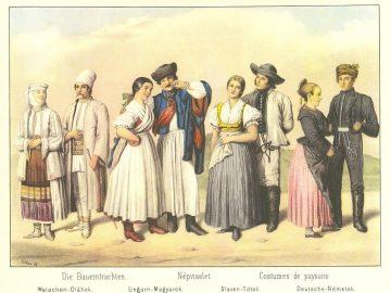 Weber Henrik-Magyarországi népviseletek