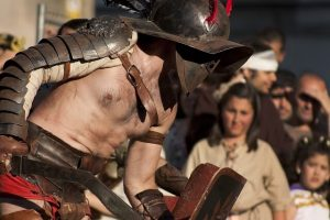 Gladiátorok küzdelem