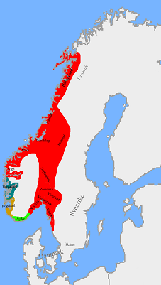 Norvégia 872-ben