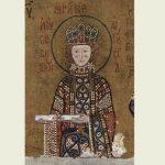 Magyar királylány, akinek mozaikja az isztambuli Hagia Szophia templom falát díszíti