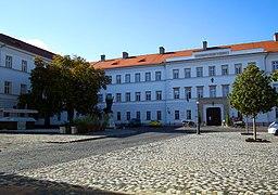 Hadtörténeti Múzeum épülete, a Nándor laktanya