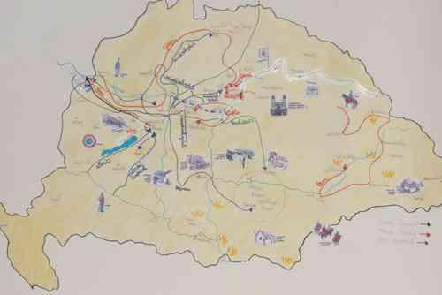 szabadságharc térkép