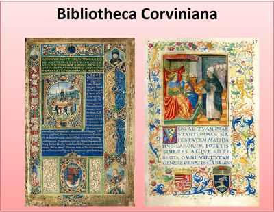 Mátyás király könyvtára - Corvinák