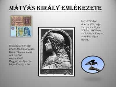 Mátyás király emlékezete
