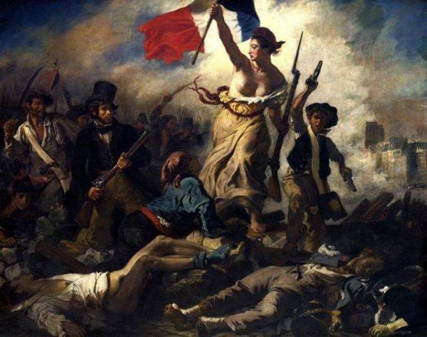 Eugène Delacroix – La liberté guidant le peuple