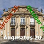 Nemzeti ünnepnapokon ingyenesen látogatható múzeumok listája
